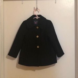 EUC toddler girl pea coat!